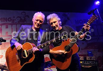 David Gilmour and Roger Waters @ Hoping Foundation Benefit July 2010