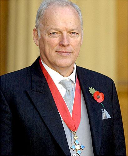 David Gilmour Honoured