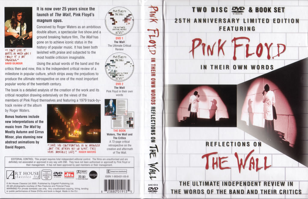 Critical Review – The Wall (DVD) | Neptune Pink Floyd