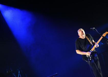 David Gilmour at Mermaid Theatre London 2006