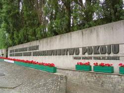 Memorial at Gdansk in Poland