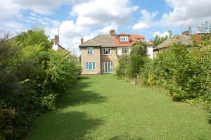 Rear Garden of Syd Barretts Former House