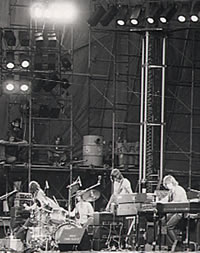Pink Floyd perform live at Knebworth 1975 as promoted by article authour Freddy Bannister