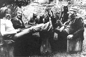 An early line up of Hawkwind