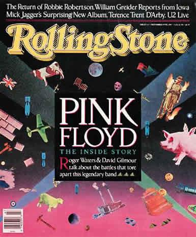 Pink Floyd Rolling Stone 1987