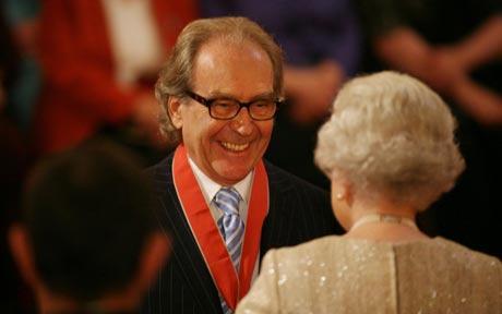 Gerald Scarfe Receives CBE from Queen Elizabeth II