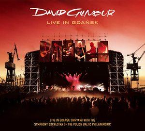 David Gilmour - Live in Gdansk Album Cover