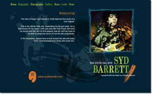 Syd Barrett Official Website