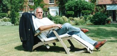 Morrison, who was born in the East End, revelled in his tycoon image!