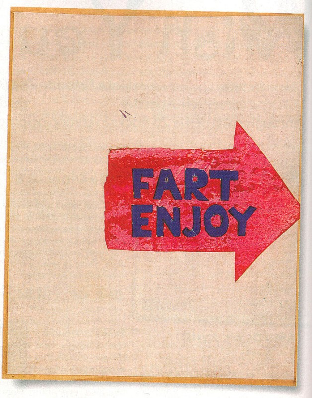 Syd Barrett Fart Enjoy Book (Click to view all 12 pages)
