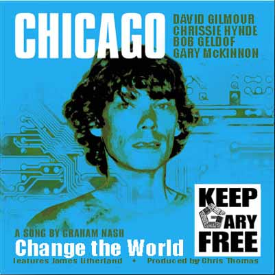 David Gilmour Chicago CD Artwork Cover Download MP3