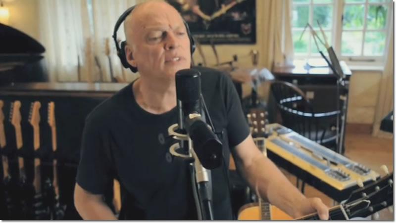 David Gilmour in Chigaco Video
