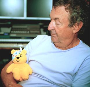 Nick Mason supporting Children in Need 2009 Bandaged Together