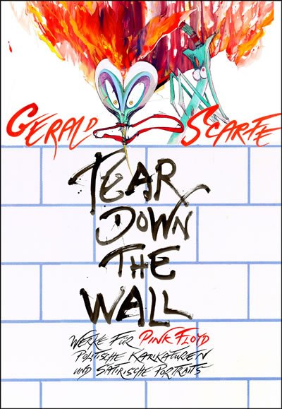 Gerald Scarfe in Germany for Tear Down The Wall Exhibition