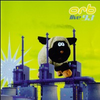 The Orb Live 1993 Album Cover inspired by Pink Floyd's Animals from 1977