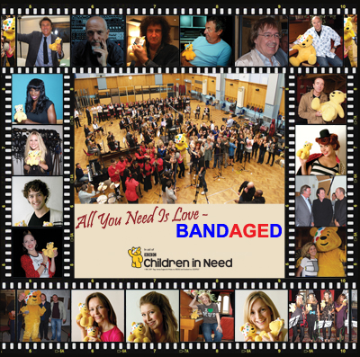 Children in Need - Bandaged Together - Album RearCover