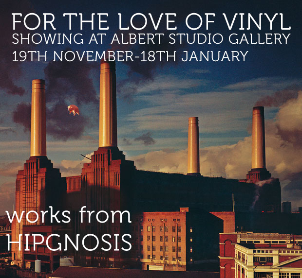 Hypgnosis: For The Love of Vinyl Albert Studio Gallery London Exhibition
