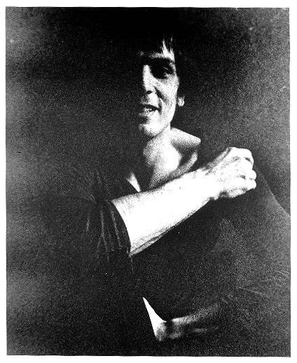 A photos of Syd Barrett by Mick Rock (Not in auction)