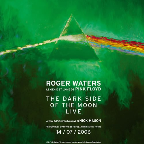 New Roger Waters/Pink Floyd Website and Dark Side of the Moon Tour DVD