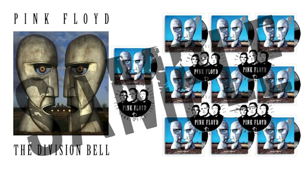 Pink Floyd's Division Bell Royal Mail stamps - Full set