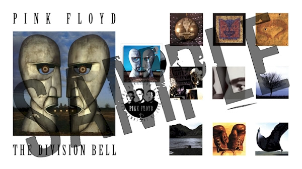 Pink Floyd's Division Bell Royal Mail stamps - Single Stamp Set