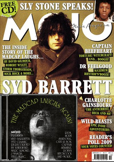 Syd Barrett MOJO March 2010 Front Cover Scan