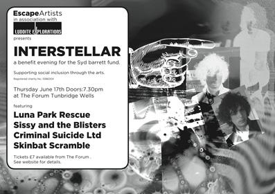 Syd Barrett Fund Interstellar Event at The Forum