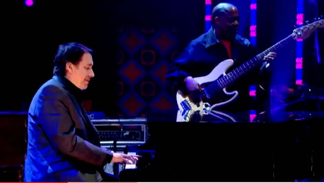 David Gilmour performs with Reverend Al Green on Jonathan Ross