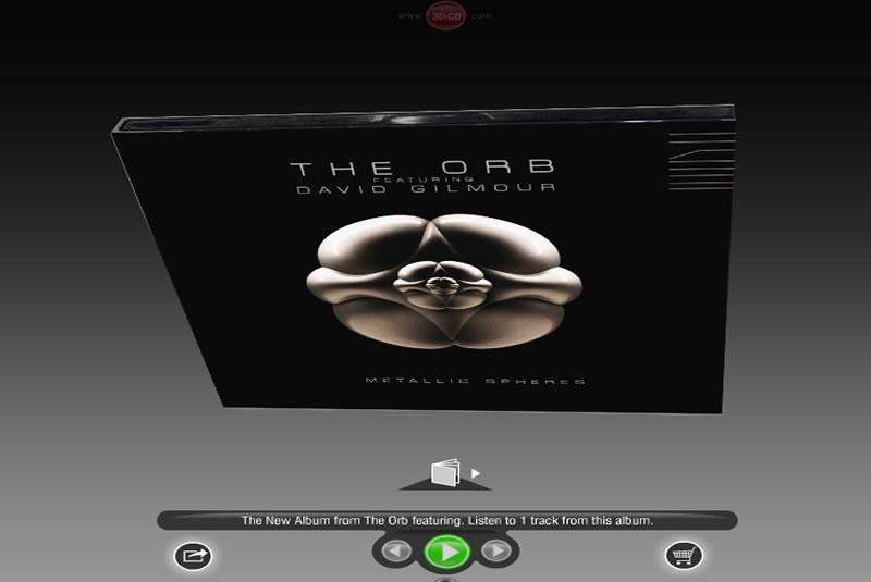 The Orb Featuring David Gilmour | Metallic Spheres Album