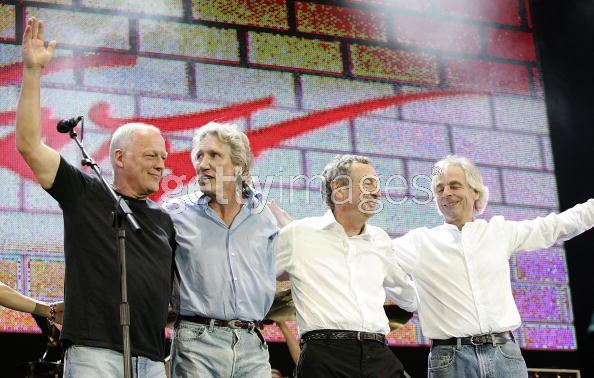Pink Floyd Live 8 Pictures
