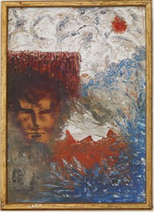 Syd Barrett Self Portrait Stolen