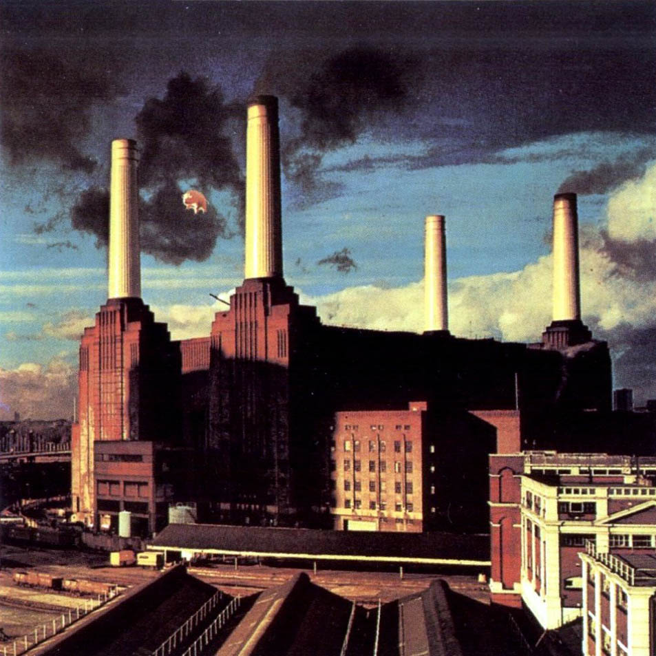 Pig over Battersea Power Station for Why Pink Floyd launch