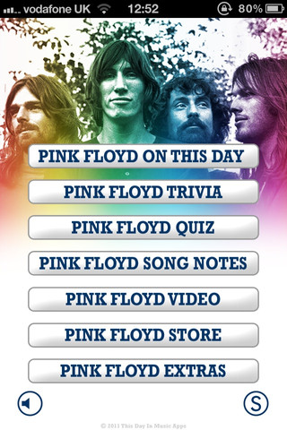 This Day in Pink Floyd Screen Shot