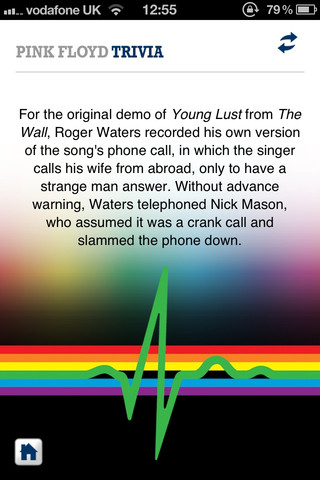 This Day in Pink Floyd iTunes App