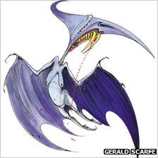 Prehistoric Flying Reptile Named after Gerald Scarfe