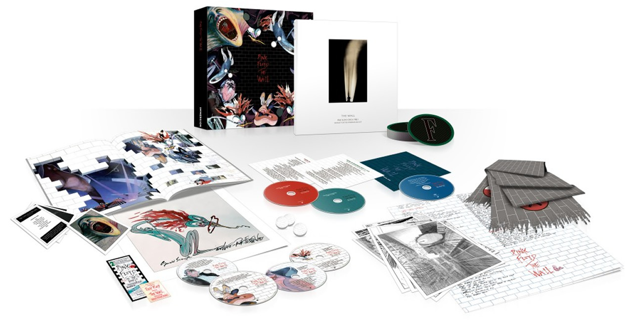 Pink Floyd The Wall Immersion Boxset
