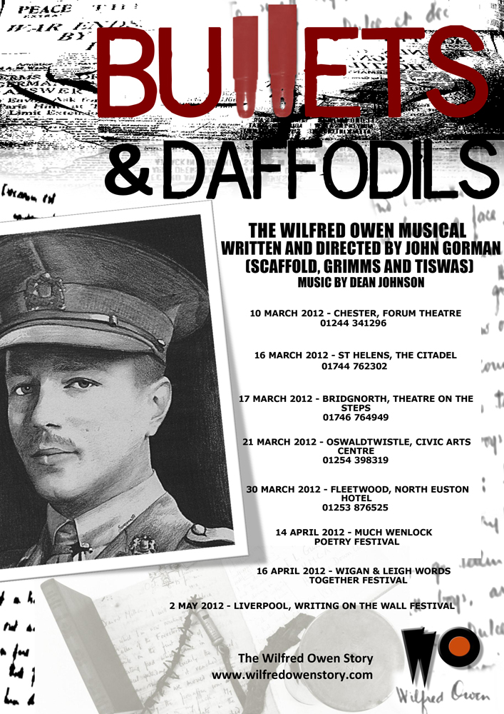 Bullets & Daffodils Poster
