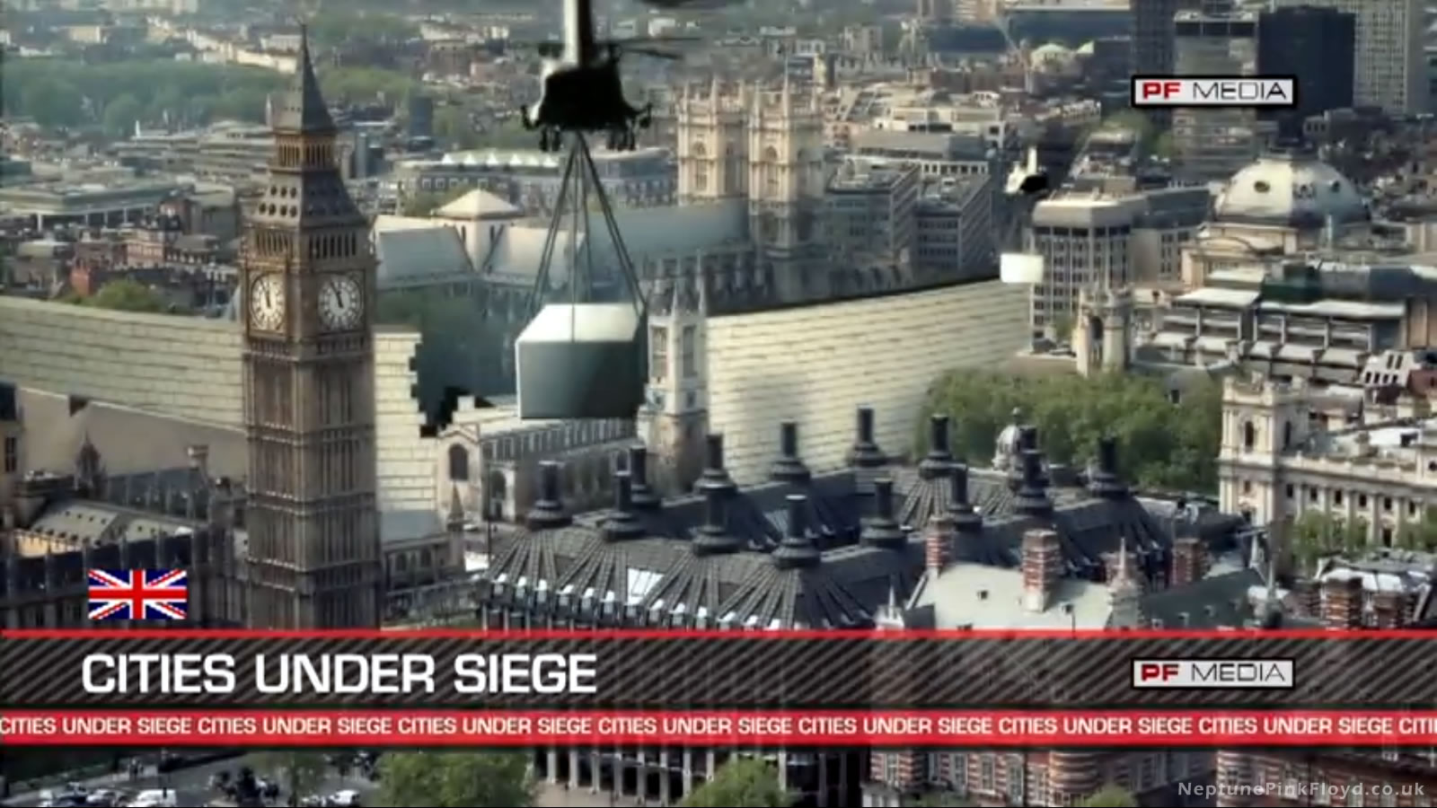 London Under Siege by Pink Floyd's Wall