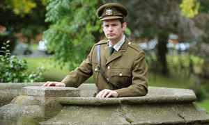 Phil G William as Wilfred Owen
