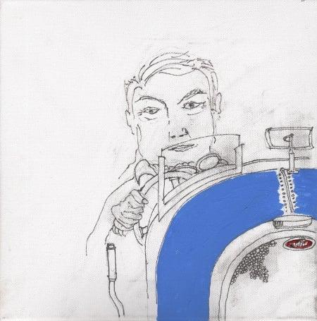Nick Mason Self Portrait