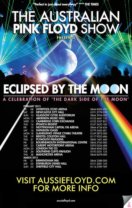 Australian Pink Floyd Tour 2013