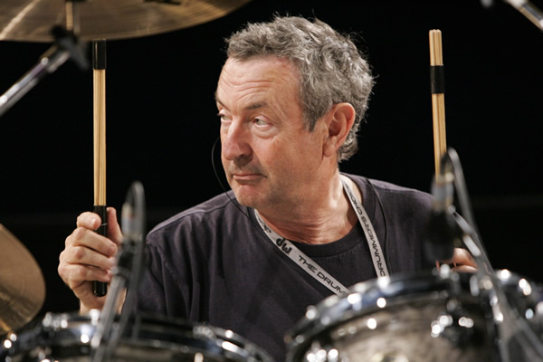 Pink Floyd Drummer Performing at Closing Ceremony of Olympics 2012