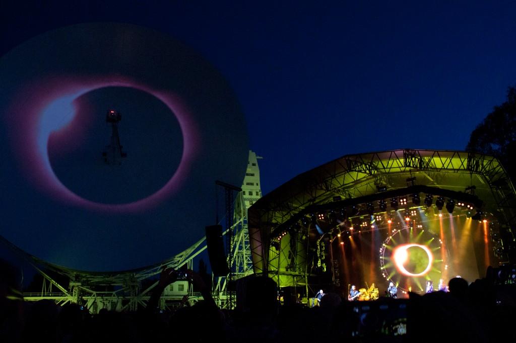 Aussie Pink Floyd Jodrell Bank 2013