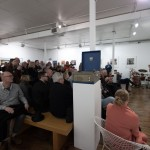 16 - Audience at St Pauls Gallery as talk concludes