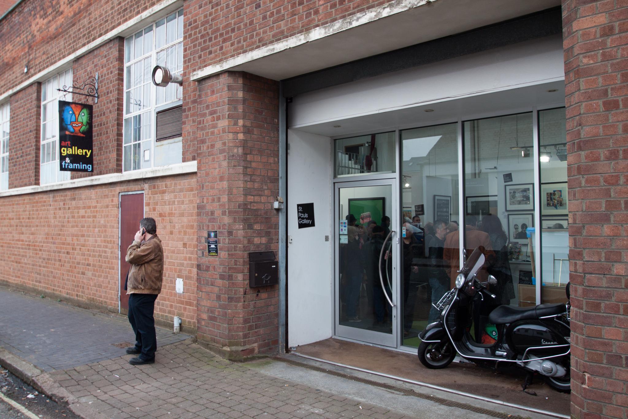 45 - St Pauls Gallery Birmingham Outside