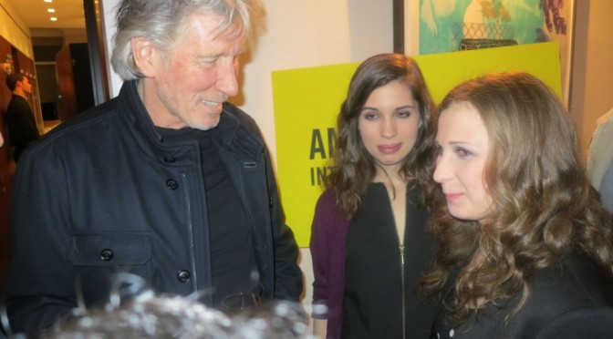 Roger Waters And Pussy Riot – Amnesty International Party