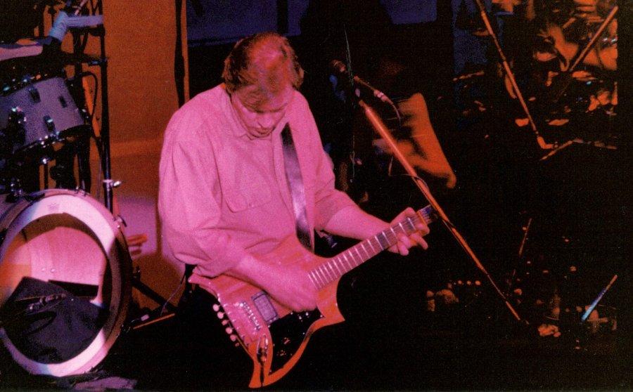 David Gilmour About Face Tour