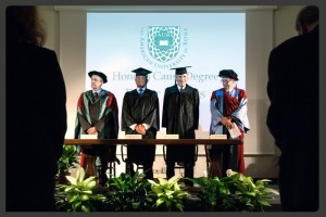 Roger Waters - Honorary Degree - The American University of Rome