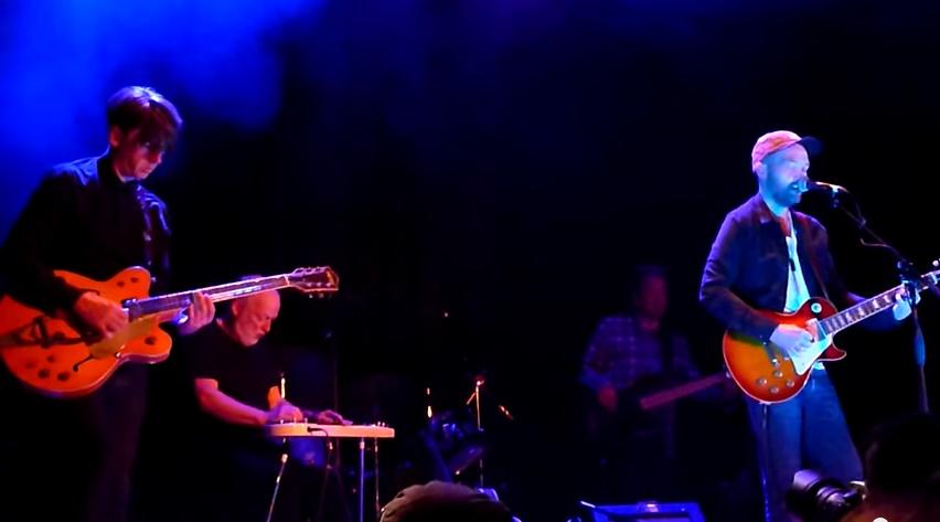 Bernard Butler, David Gilmour and Ben Watt London 2014