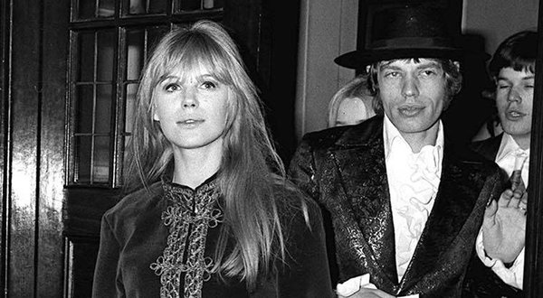 Mick Jagger and Marianne Faithfull